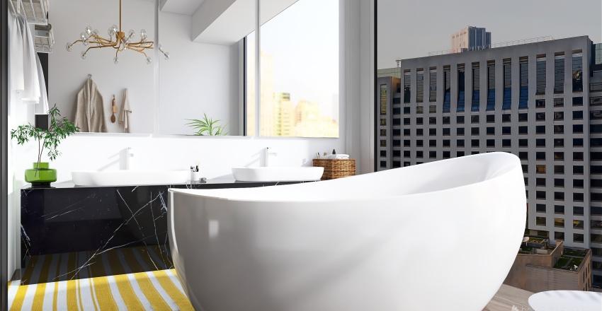Color for Urban Interior Design Render