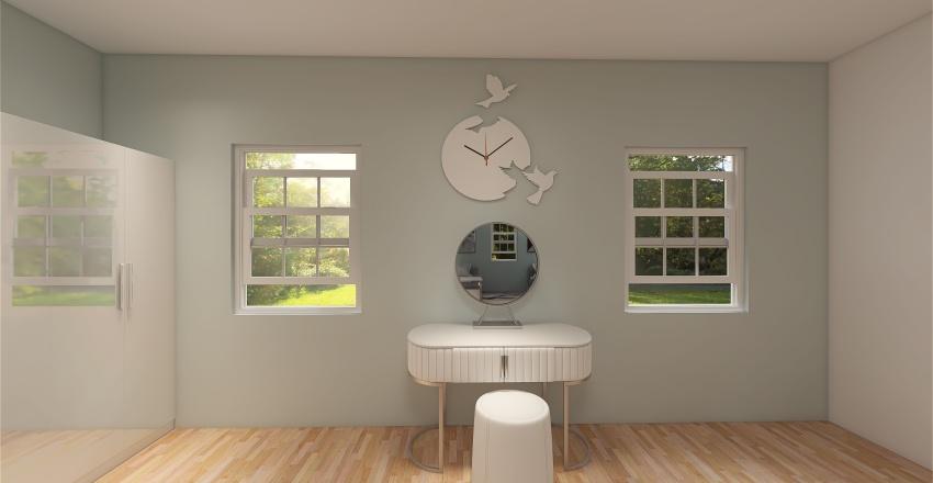 Aphrodite's Cabin Interior Design Render
