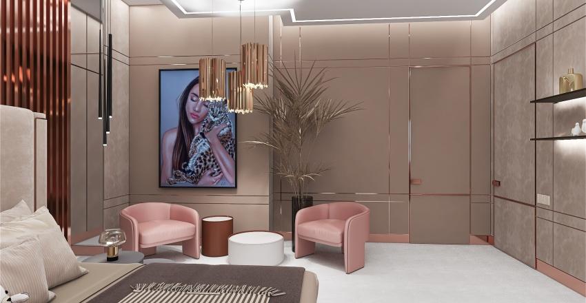 Young dancer Interior Design Render