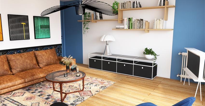 Mobilier de designers - Modernité & couleurs Interior Design Render