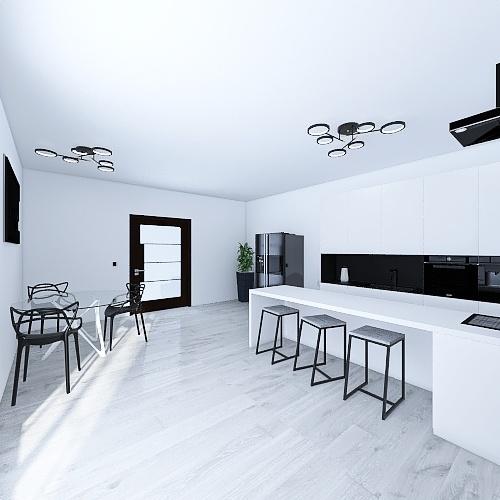 Cocina B&N Interior Design Render