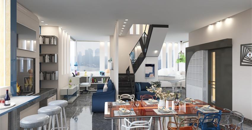 villetta 2 livelli... Interior Design Render
