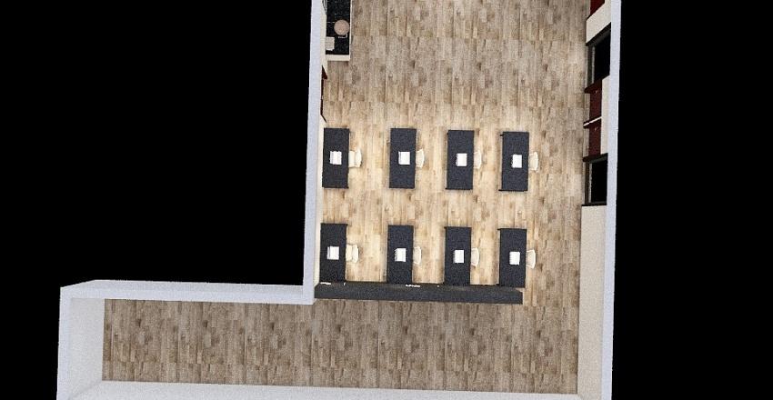 AIM Office Interior Design Render