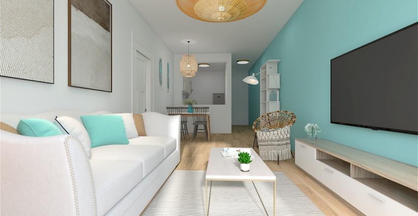 Costa Rubite Interior Design Render