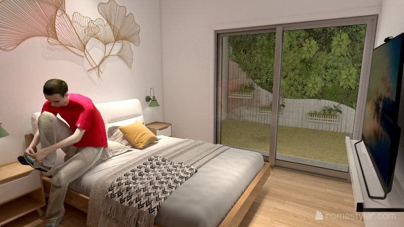 3 casas Interior Design Render