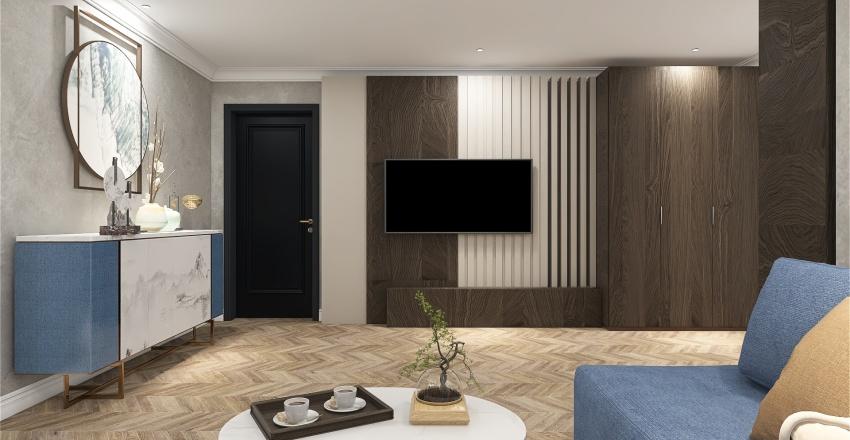 126 Sqm Interior Design Render