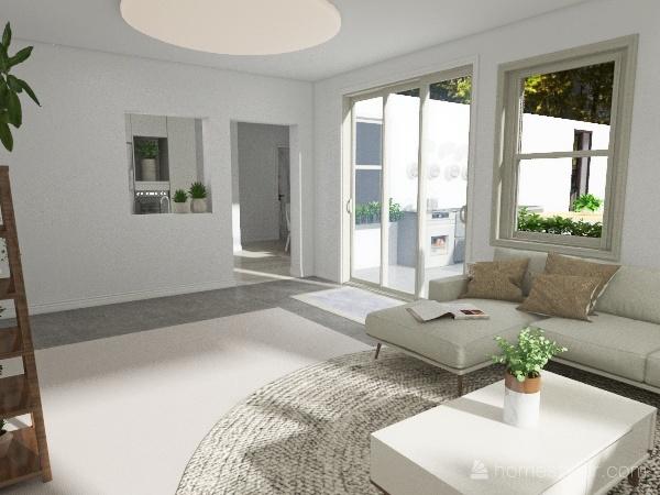 Ranch home Interior Design Render