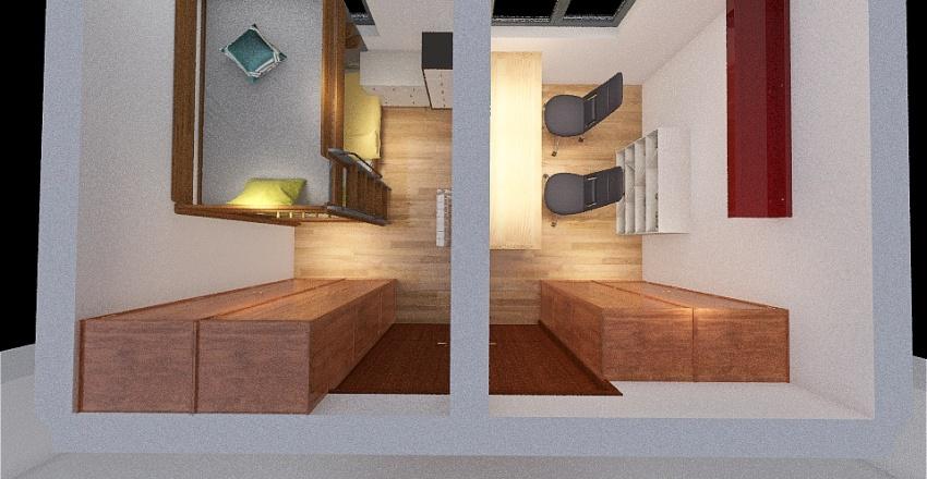 Room kids Interior Design Render