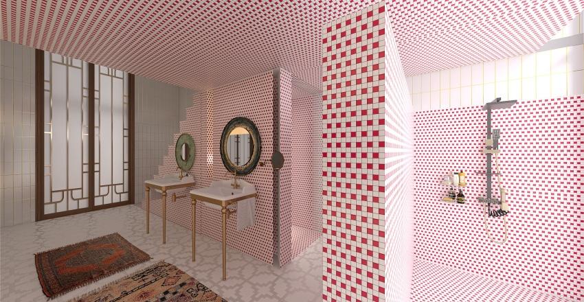 Refurbished Appartment Interior Design Render