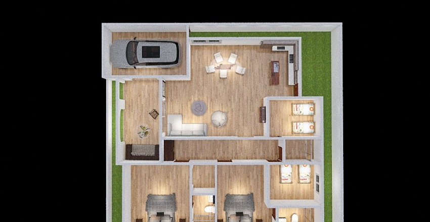 new poped Interior Design Render