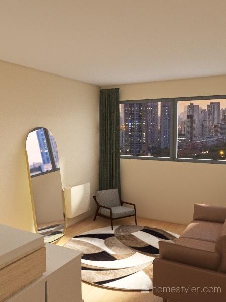 Test of Appartement Place des reflets Interior Design Render