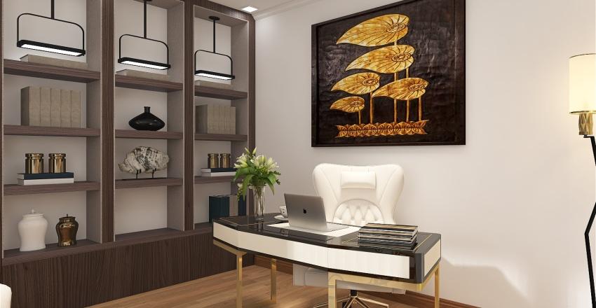manager's office Interior Design Render
