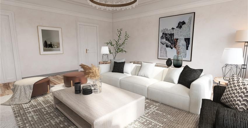City Apartment ReDesign Interior Design Render