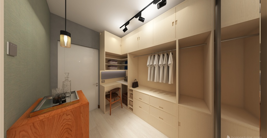 Begonias Commune Interior Design Render