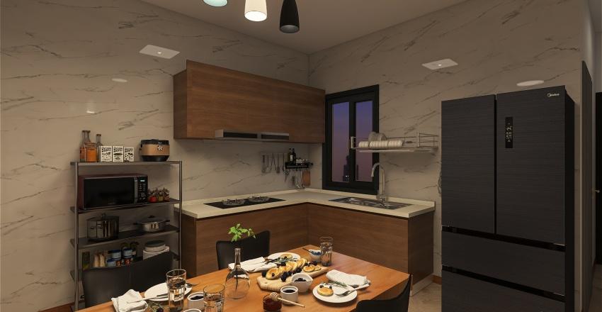 Simple Apartment  - Mr.Huy Interior Design Render
