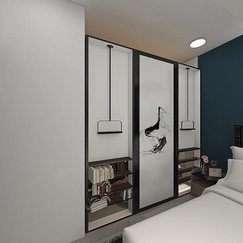 Bedroom - Batman Interior Design Render