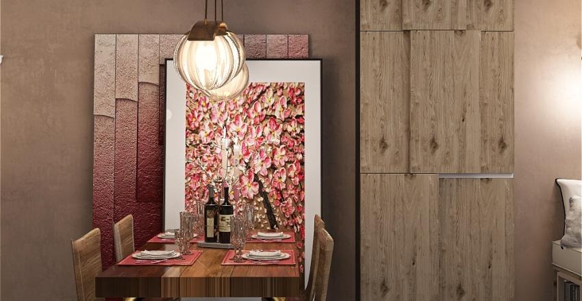 A woman's lair Interior Design Render