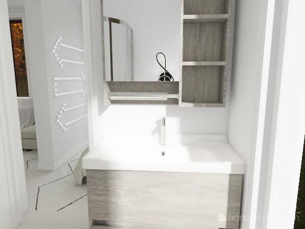 white Interior Design Render