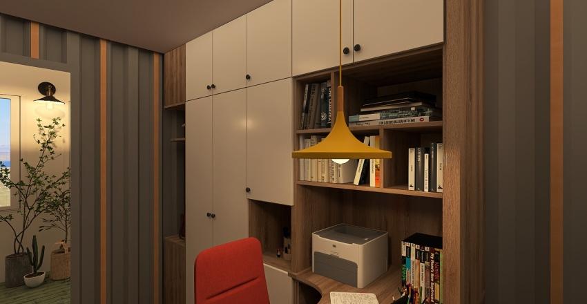 Steel Love Interior Design Render