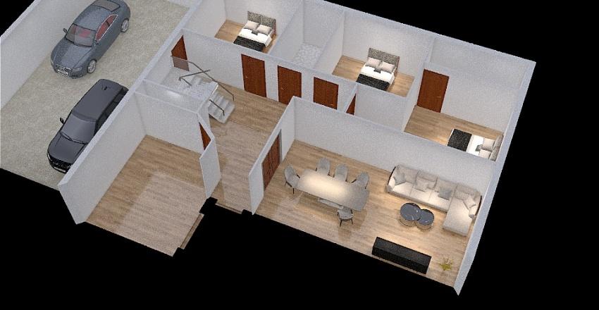 Casa Javi y Lara - Opción 2 Interior Design Render