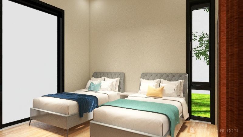 Casa de campo Arauca Interior Design Render