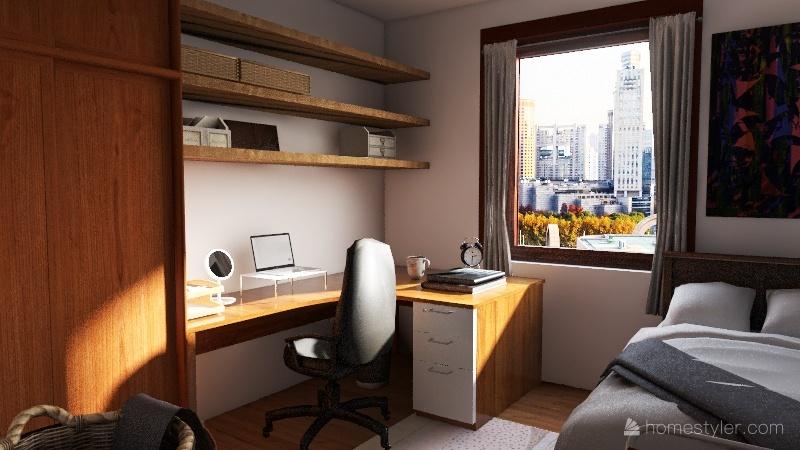 v2_Ezgi Dorm Interior Design Render