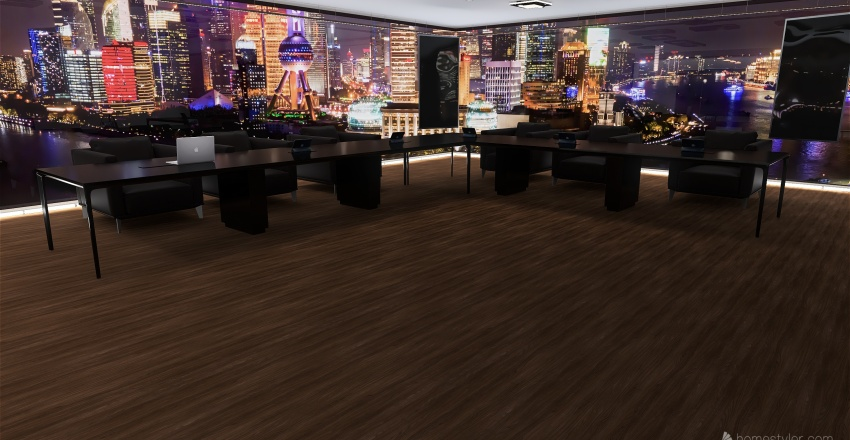 Programa de Tv Interior Design Render