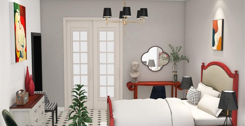 Спальня 2_copy_copy Interior Design Render