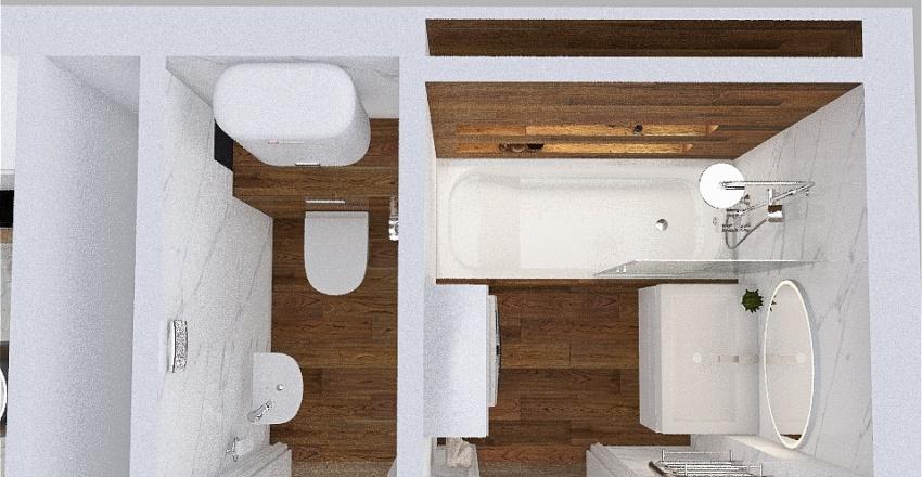 Copy of Елена 96м Interior Design Render