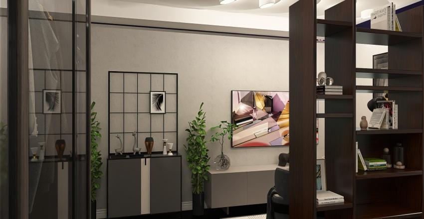 Спальня-гостиная Interior Design Render