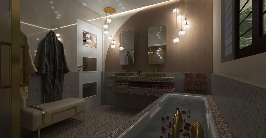casetta a cielo aperto Interior Design Render