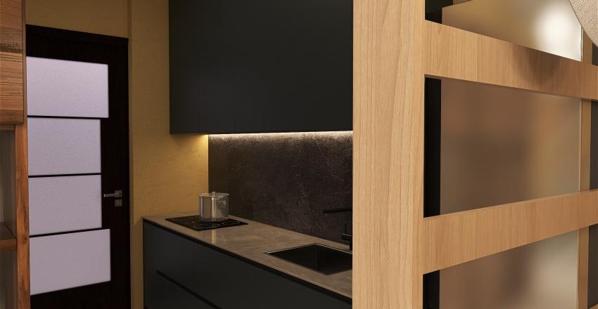喵胖家 (現代風) Interior Design Render