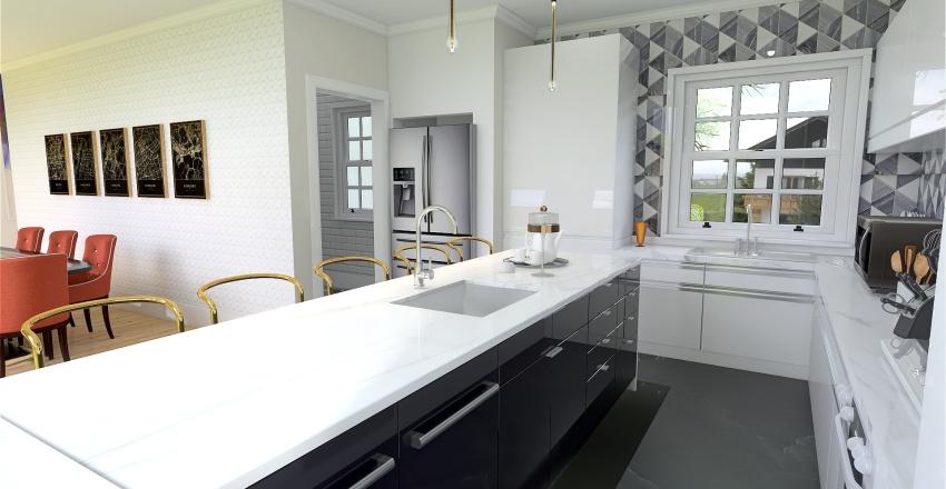 v2_House minimalista Flow Interior Design Render