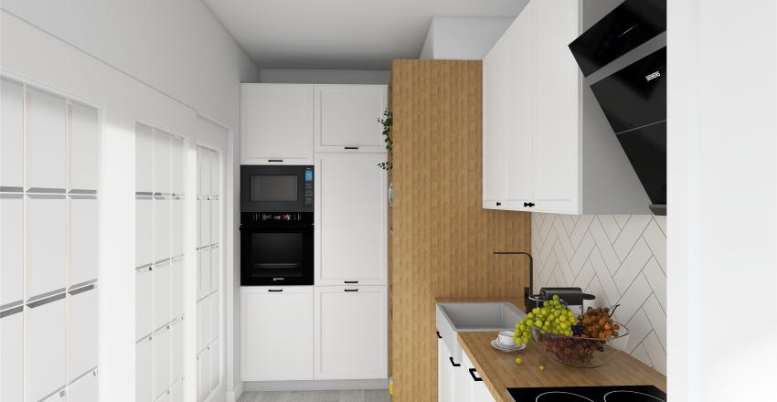 Mari's Kitchen Interior Design Render