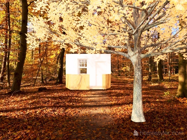 Fall home Interior Design Render