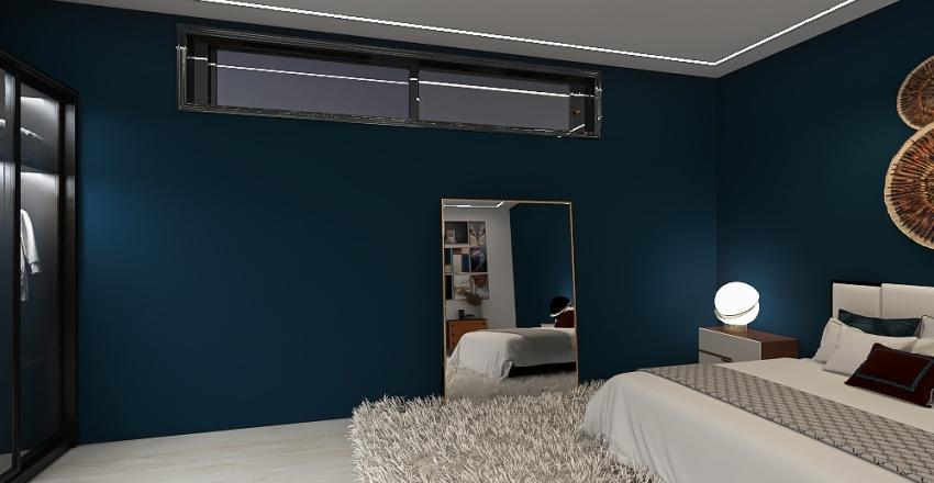 Bachelor Pad, Kigali, Rwanda Interior Design Render