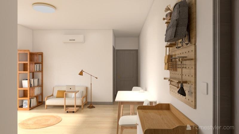 Ms. Zhang's house Interior Design Render