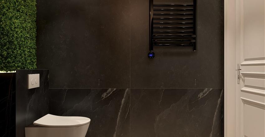 Forest bathroom Interior Design Render