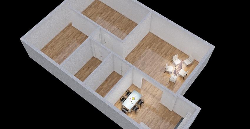 PIANTINA 3D Interior Design Render