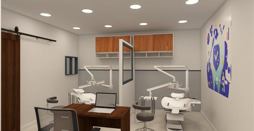 Clinica Tiane Interior Design Render