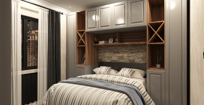 78 Sqm Interior Design Render