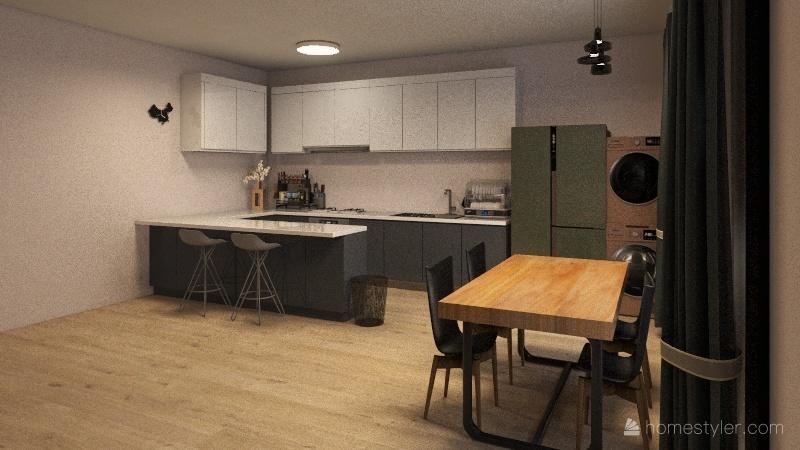 Apartment. Interior Design Render