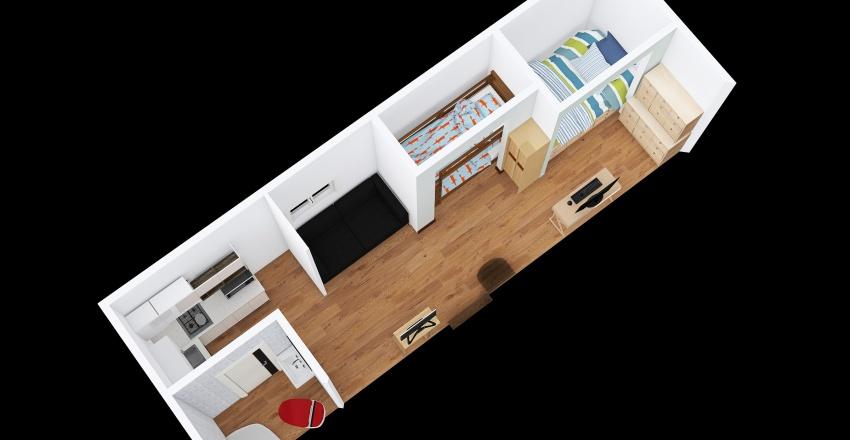 Cvna. diseño 2 Interior Design Render