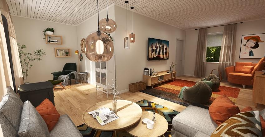 Elkjærvej 86 Interior Design Render