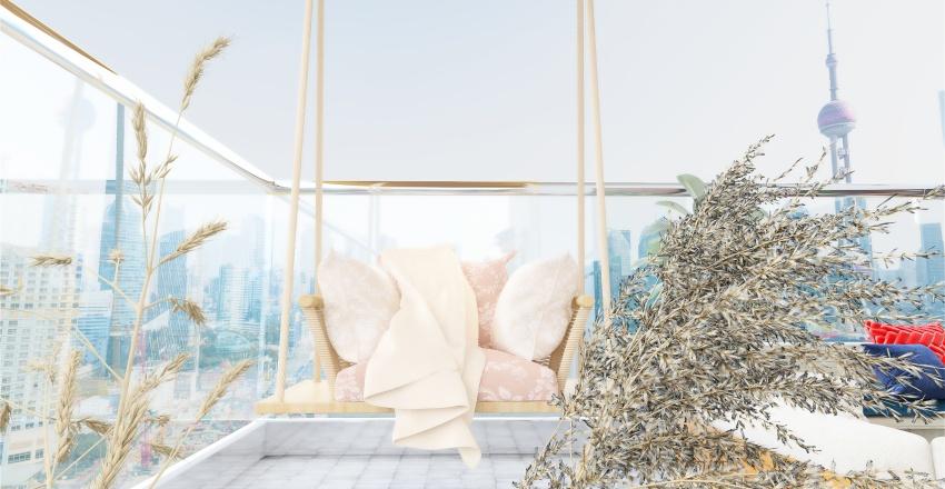 NYC Apartment. Interior Design Render