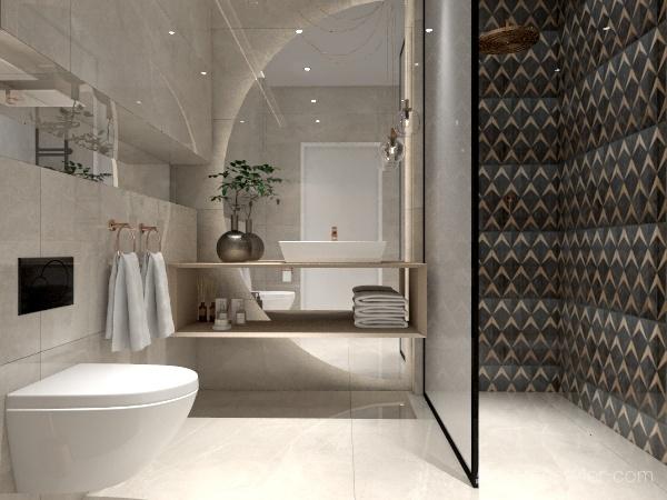 Aleksandra Home Interior Design Render
