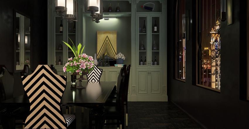 GDark Interior Design Render