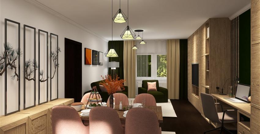 Living Buta Interior Design Render