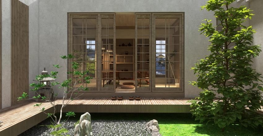 postcard from japan Interior Design Render