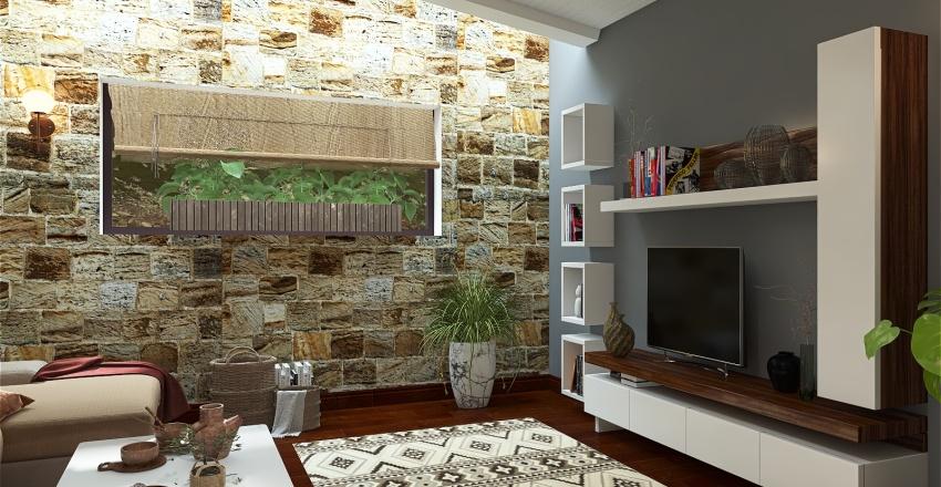 In the mountains Interior Design Render
